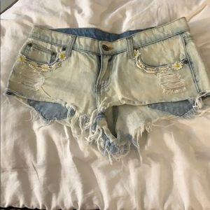 LF/Carmar Jean shorts